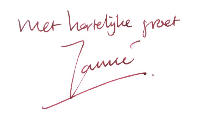 hartelijke groet Jannie